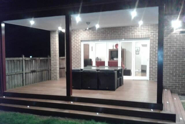 Pro Image Electrical - Garden Lighting - Deck Lighting
