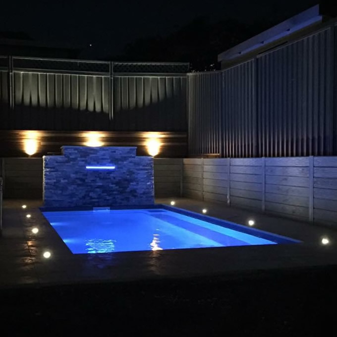 Pro Image Electrical - Garden Lighting - Outdoor Pool Lighting
