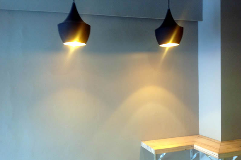 Pro Image Electrical - Commercial - Cafe Lighting
